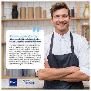 Opiniones CEAC FP de Grado Medio de Gastronomía y Cocina