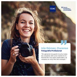 Opiniones CEAC Curso Fotografía Digital Profesional