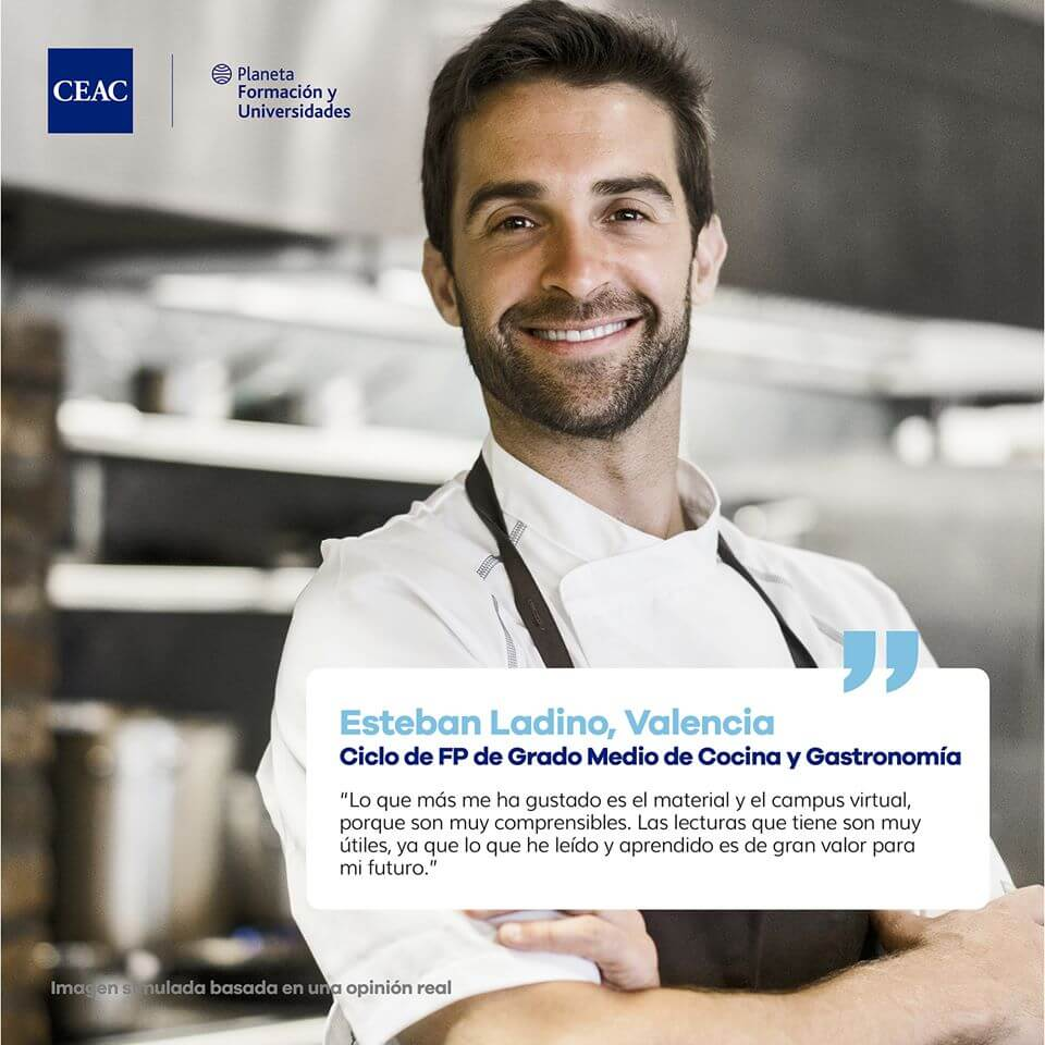 Grado Medio en Cocina y Gastronomía